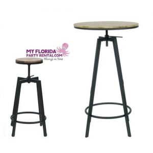 Vintage Cocktail Tables Rentals